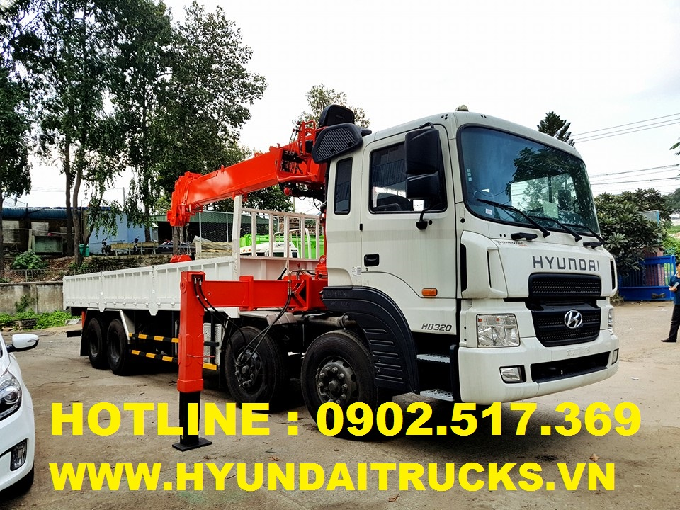 hyundai hd320 gan cau kanglim, can cau kanglim 7 tan ks2056, xe tai hd320 19 tan